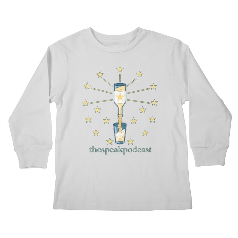 Clothing and Apparel Kids Longsleeve T-Shirt by thespeakpodcast's page o' merch