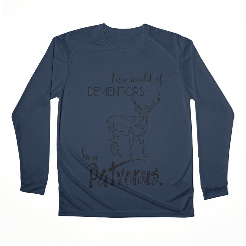 In a World of Dementors, be a Patronus Men's Longsleeve T-Shirt by thespinnacle's Artist Shop