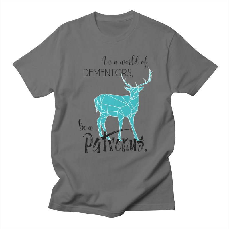 In a World of Dementors, Be a Patronus - Teal Men's T-Shirt by thespinnacle's Artist Shop
