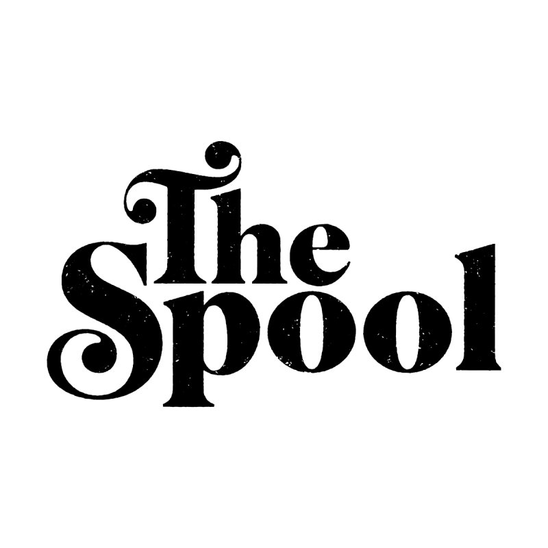 Spool Logo (Black) Men's T-Shirt by The Spool Shop