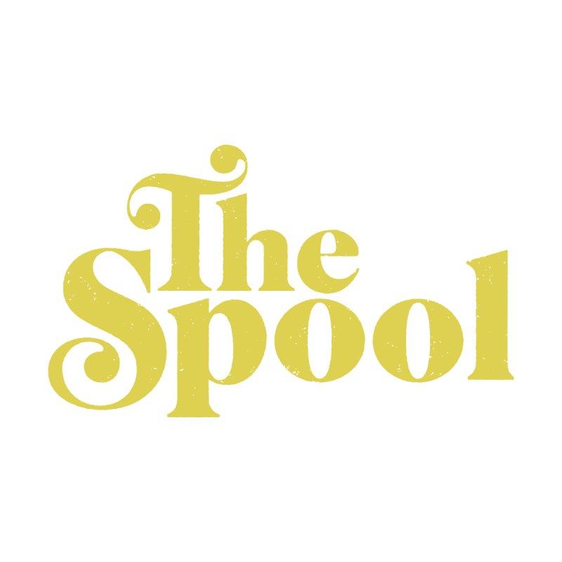 Spool Logo (Yellow) Men's T-Shirt by The Spool Shop