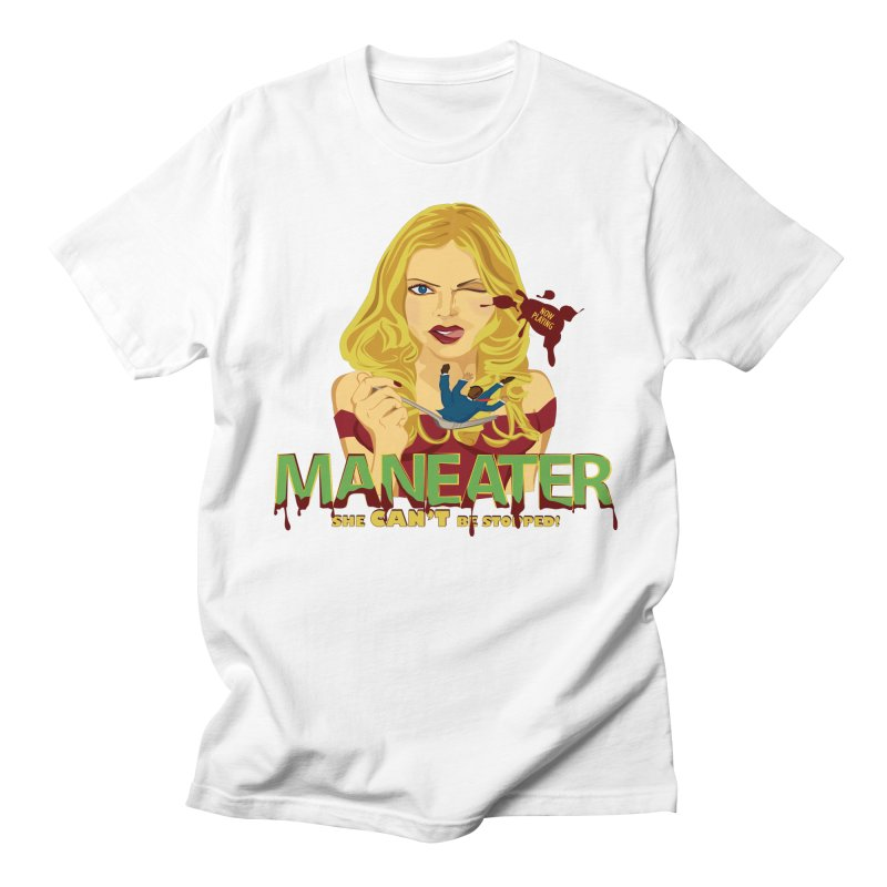Maneater Men's T-Shirt by The Starving Crew's Artist Shop