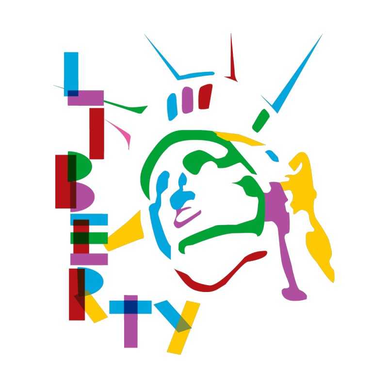 Liberty None  by The Starving Crew's Artist Shop