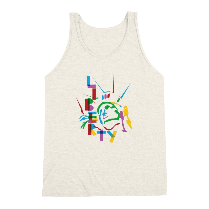 Liberty Men's Triblend Tank by thestarvingcrew's Artist Shop
