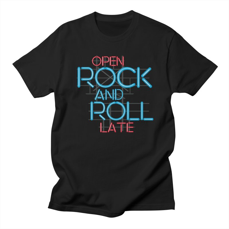 Rock and Roll Men's T-shirt by thestarvingcrew's Artist Shop