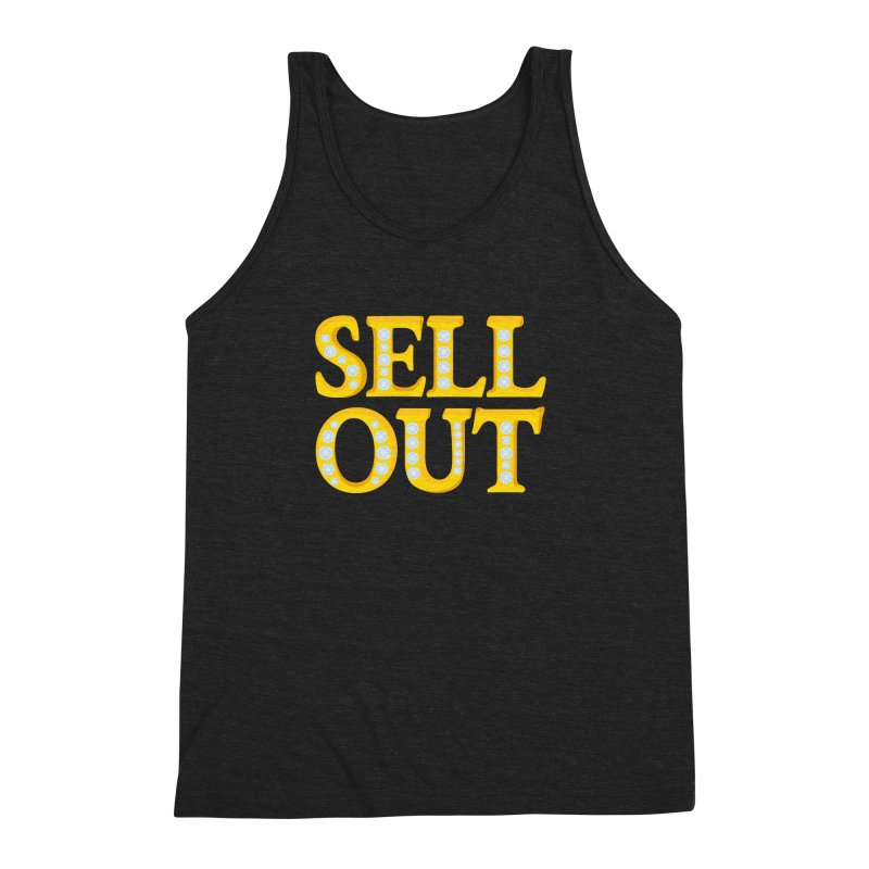Sellout Men's Triblend Tank by thestarvingcrew's Artist Shop