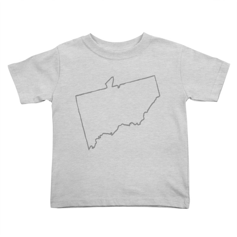 ATO Naked  Kids Toddler T-Shirt by THE STICK PONY