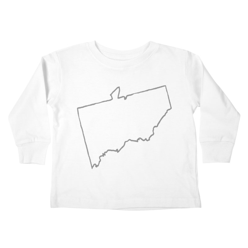ATO Naked  Kids Toddler Longsleeve T-Shirt by THE STICK PONY