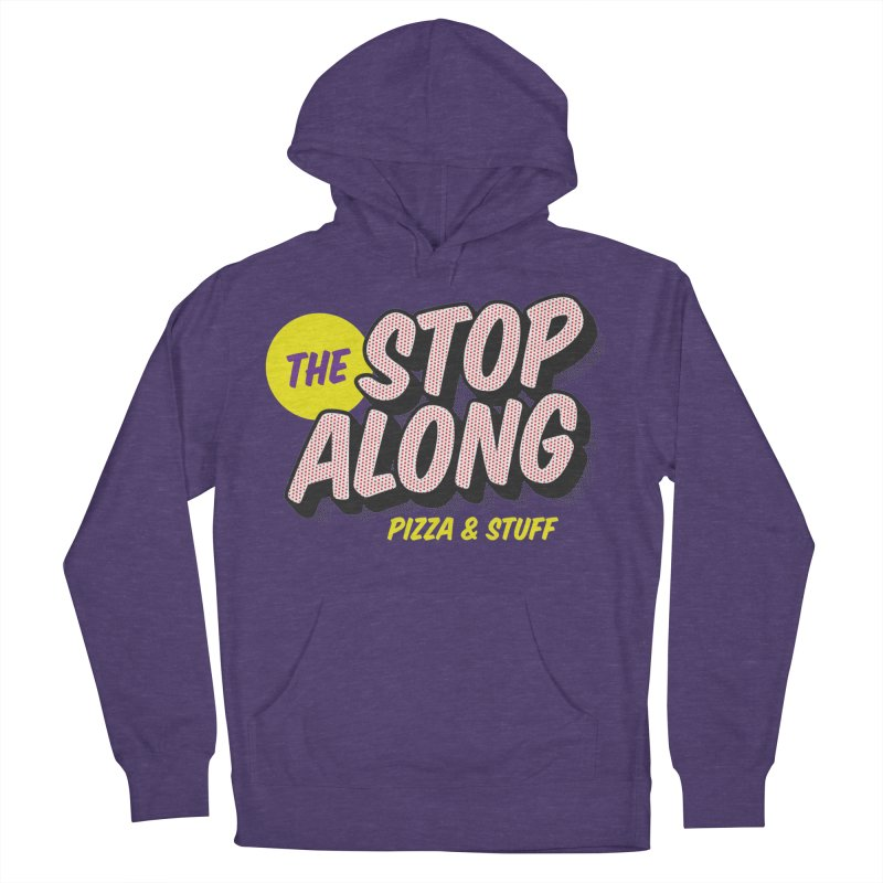 Purple Shirt Men's French Terry Pullover Hoody by StopAlong Swag