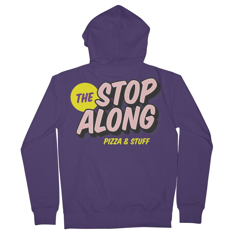 Purple Shirt Women's French Terry Zip-Up Hoody by StopAlong Swag