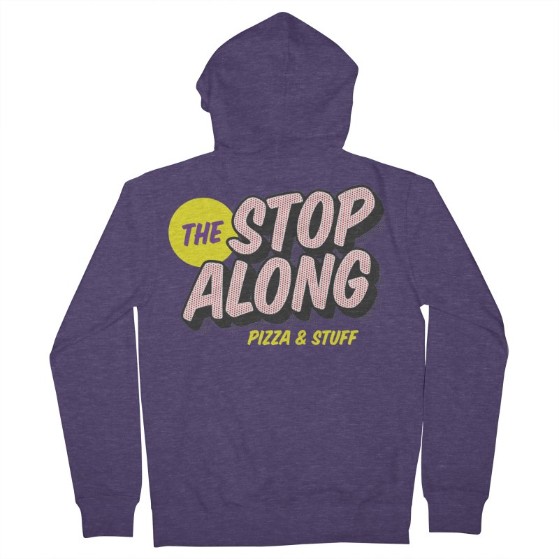 Purple Shirt Men's Zip-Up Hoody by StopAlong Swag