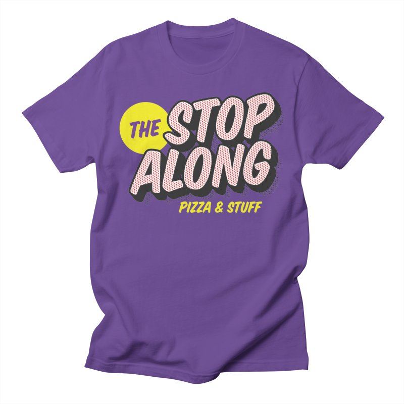 Purple Shirt Men's Regular T-Shirt by StopAlong Swag