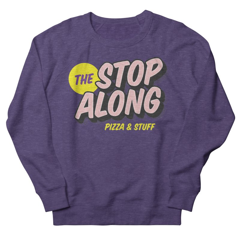 Purple Shirt Men's French Terry Sweatshirt by StopAlong Swag