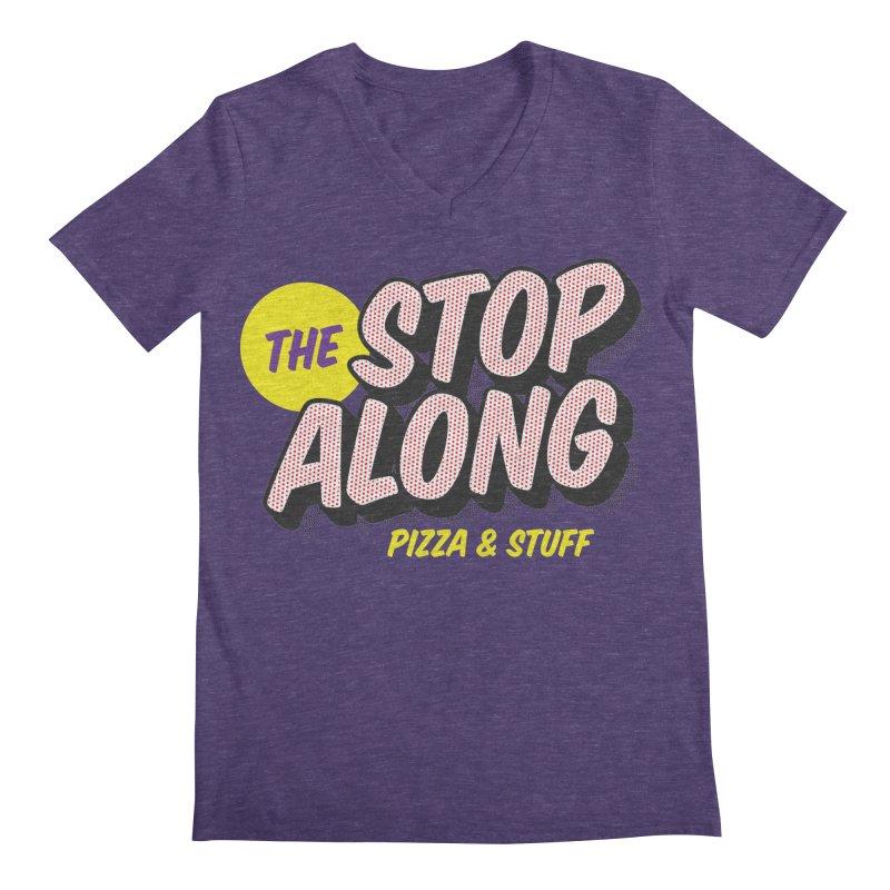 Purple Shirt Men's Regular V-Neck by StopAlong Swag