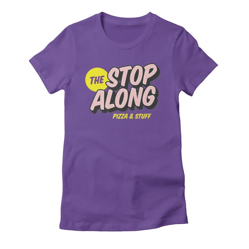 Purple Shirt Women's Fitted T-Shirt by StopAlong Swag