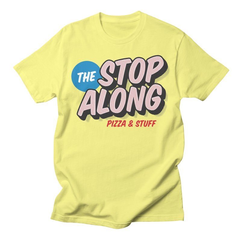 Yellow Shirt Men's Regular T-Shirt by StopAlong Swag