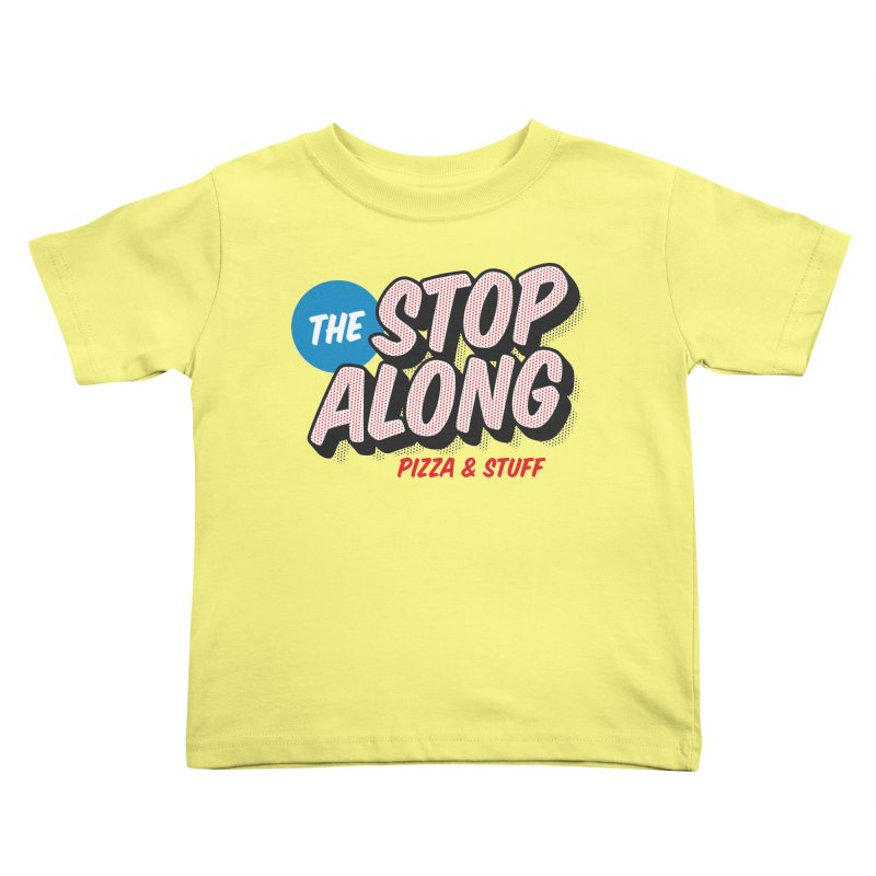 Yellow Shirt Kids Toddler T-Shirt by StopAlong Swag