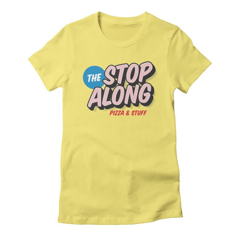 Yellow Shirt Women's Fitted T-Shirt by StopAlong Swag