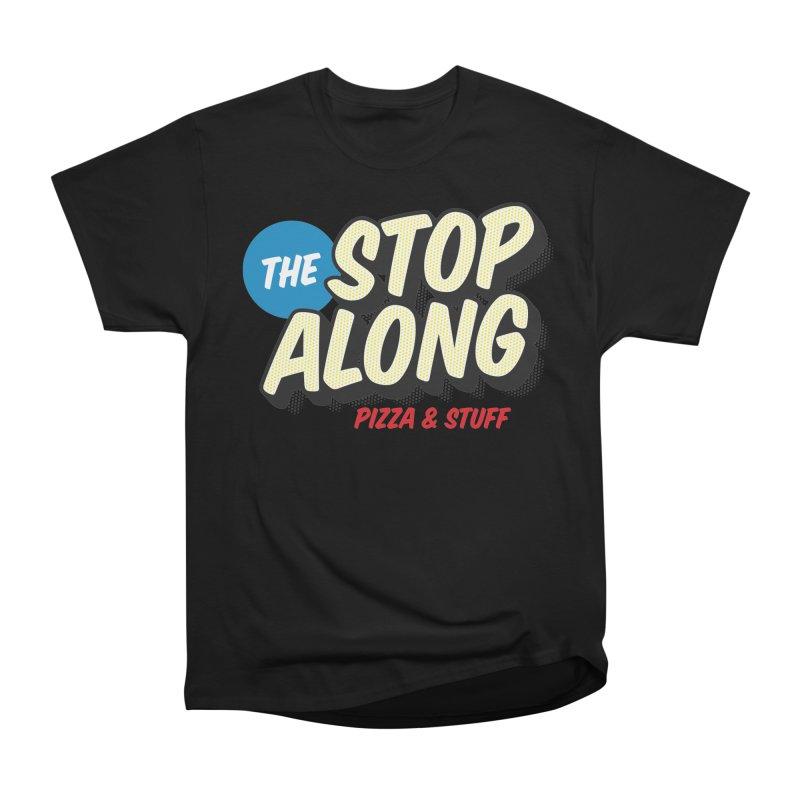 Yellow Dots Men's Heavyweight T-Shirt by StopAlong Swag