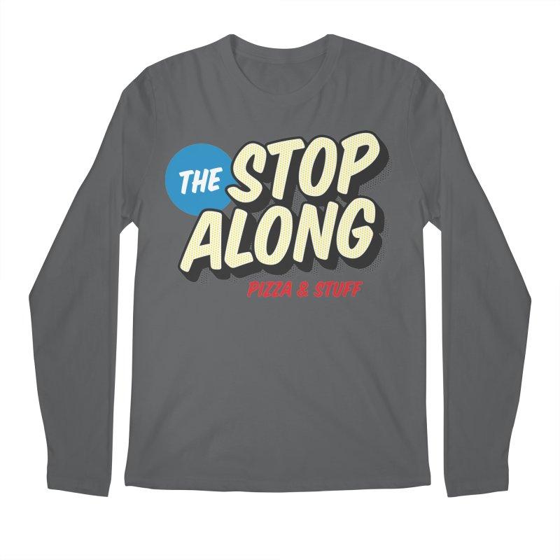 Yellow Dots Men's Regular Longsleeve T-Shirt by StopAlong Swag
