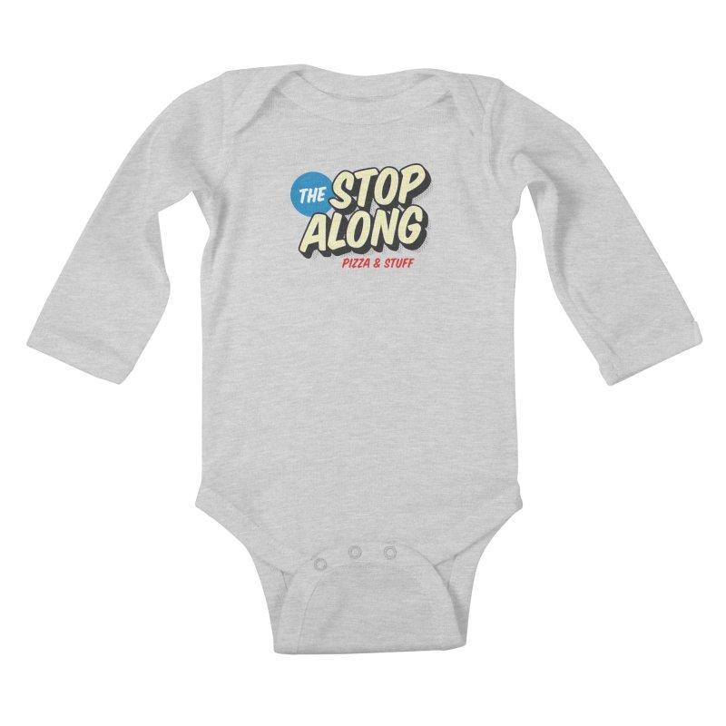 Yellow Dots Kids Baby Longsleeve Bodysuit by StopAlong Swag