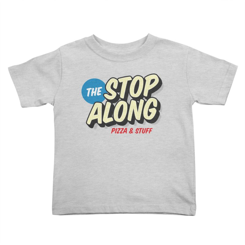 Yellow Dots Kids Toddler T-Shirt by StopAlong Swag