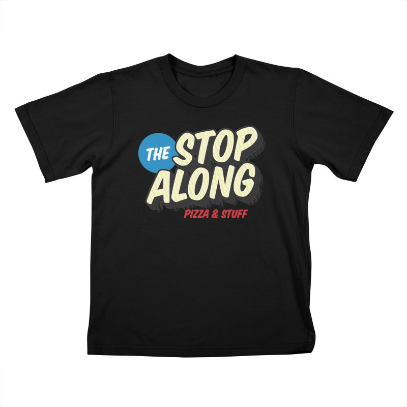 Yellow Dots Kids T-Shirt by StopAlong Swag