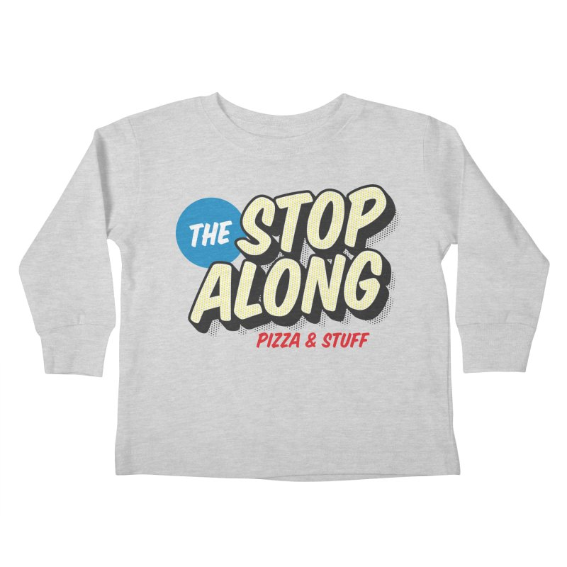 Yellow Dots Kids Toddler Longsleeve T-Shirt by StopAlong Swag