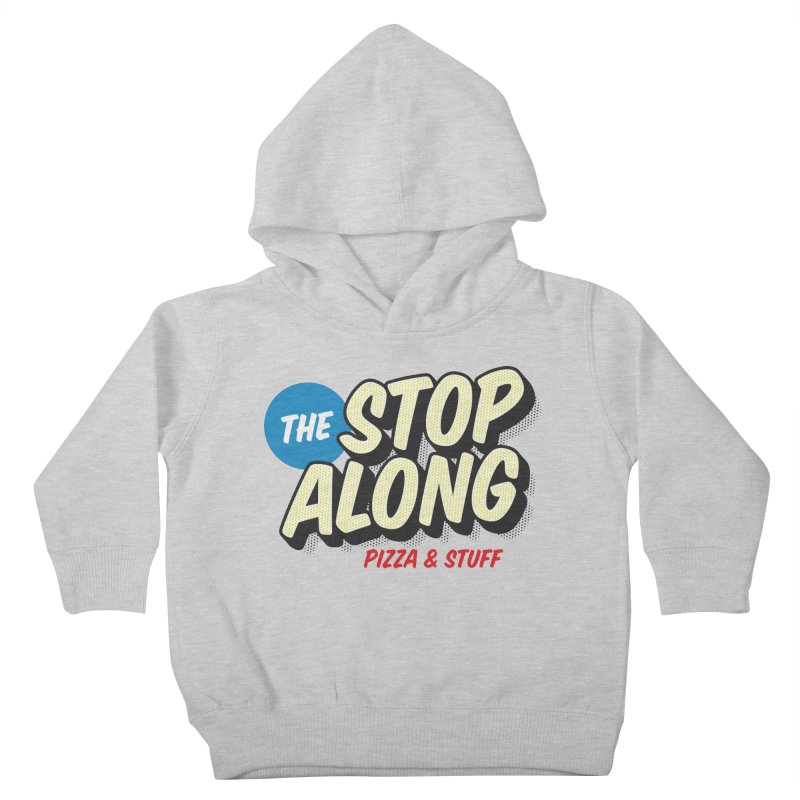 Yellow Dots Kids Toddler Pullover Hoody by StopAlong Swag