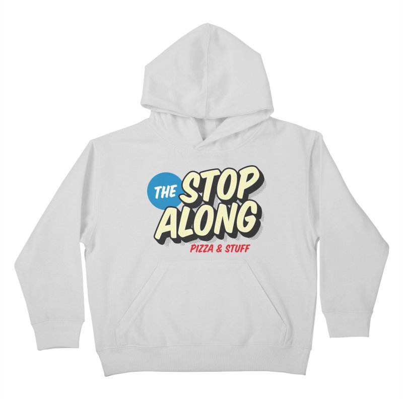 Yellow Dots Kids Pullover Hoody by StopAlong Swag