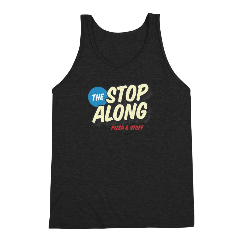 Yellow Dots Men's Triblend Tank by StopAlong Swag