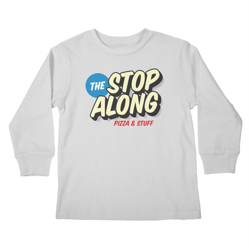 Yellow Dots Kids Longsleeve T-Shirt by StopAlong Swag