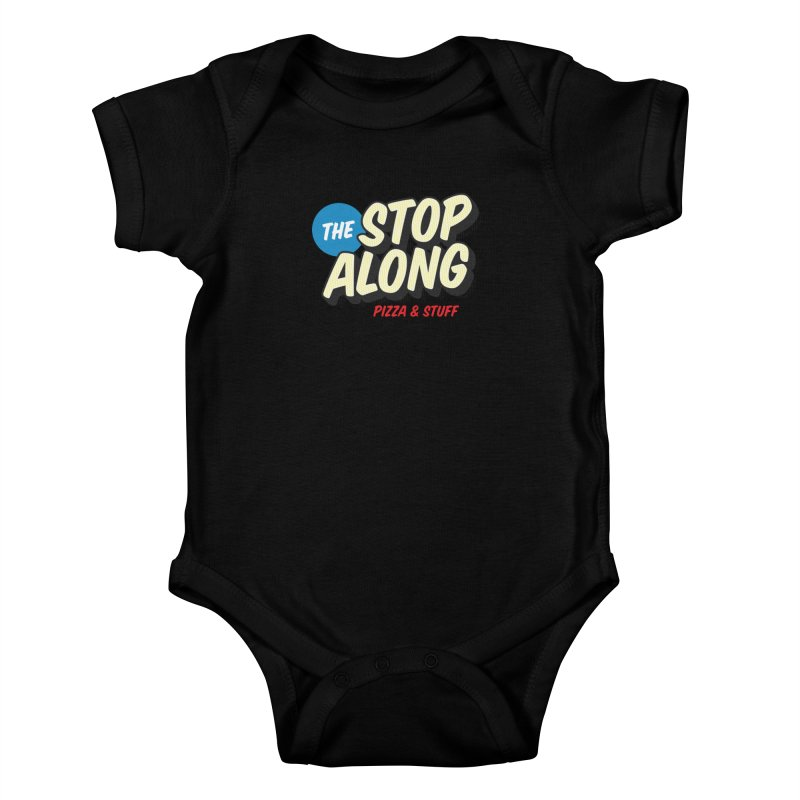 Yellow Dots Kids Baby Bodysuit by StopAlong Swag