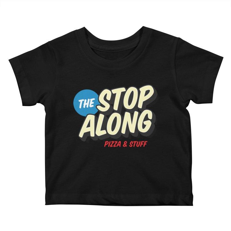 Yellow Dots Kids Baby T-Shirt by StopAlong Swag