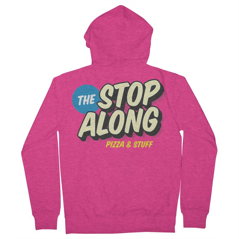 Pink/Red Shirt Women's French Terry Zip-Up Hoody by StopAlong Swag