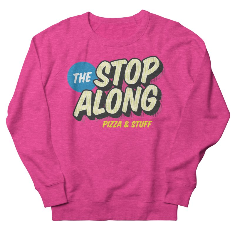Pink/Red Shirt Men's French Terry Sweatshirt by StopAlong Swag