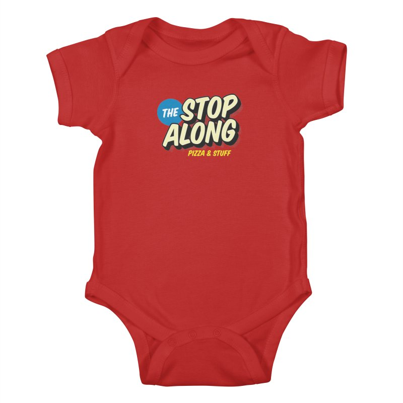 Pink/Red Shirt Kids Baby Bodysuit by StopAlong Swag