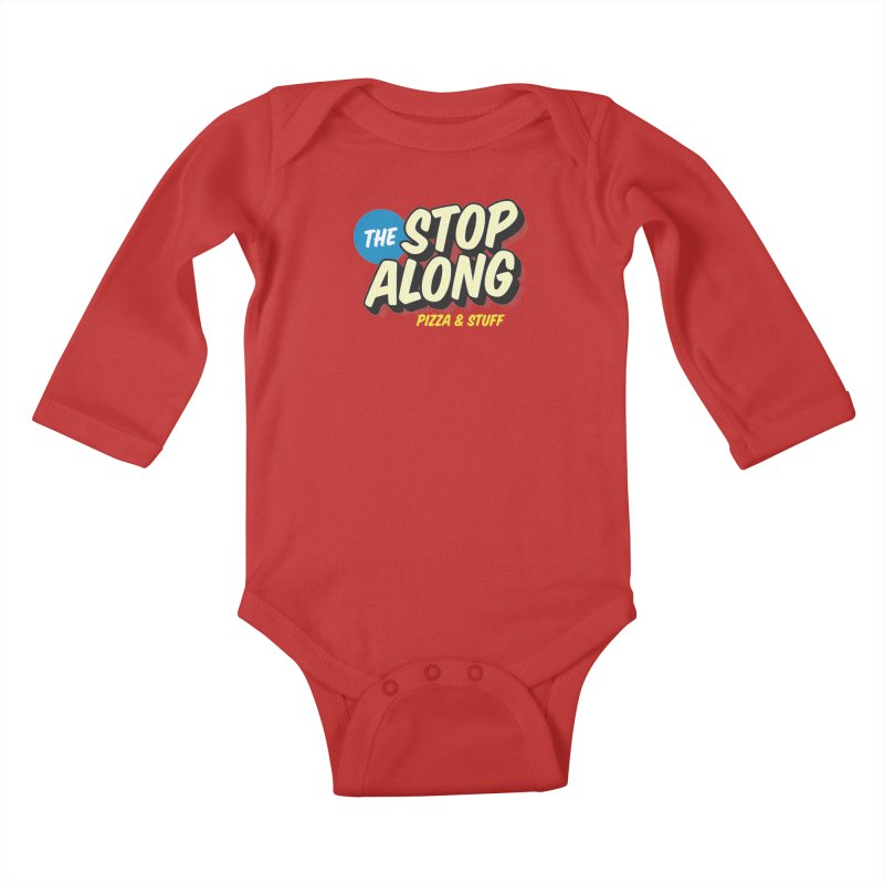 Pink/Red Shirt Kids Baby Longsleeve Bodysuit by StopAlong Swag