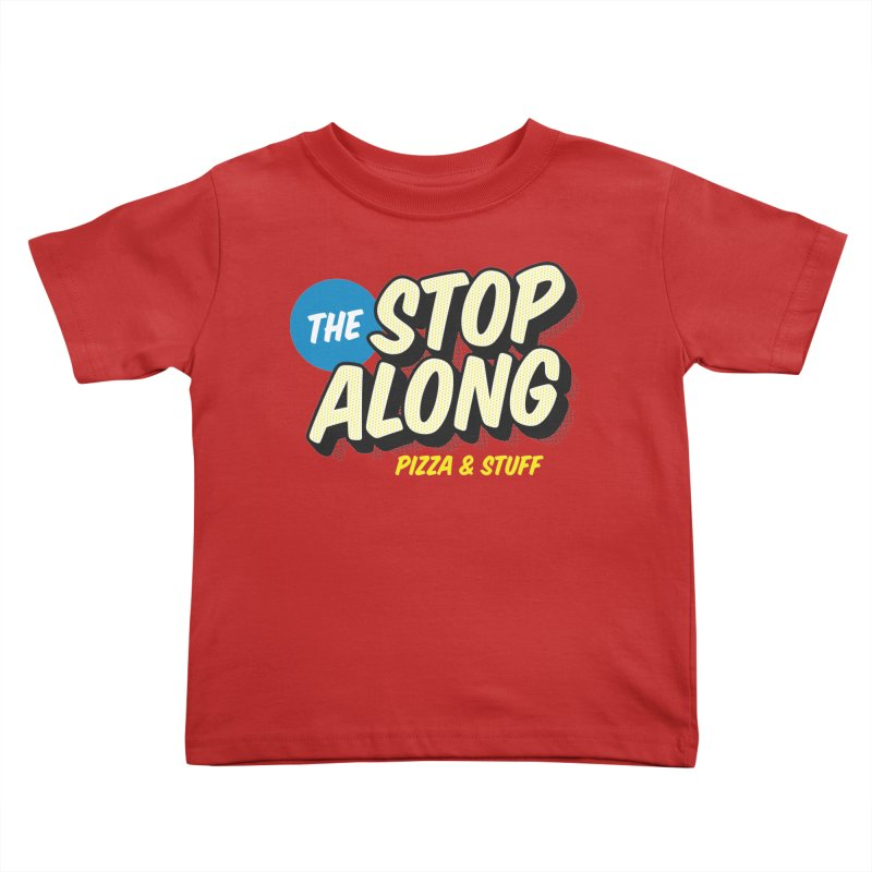 Pink/Red Shirt Kids Toddler T-Shirt by StopAlong Swag