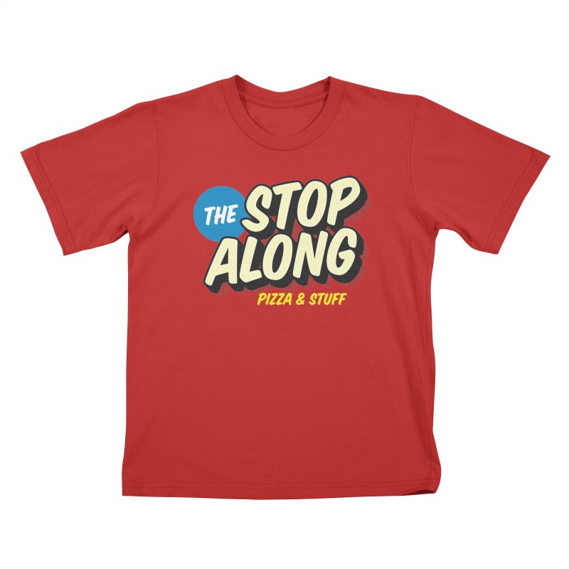 Pink/Red Shirt Kids T-Shirt by StopAlong Swag