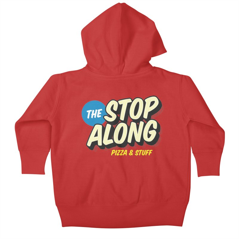 Pink/Red Shirt Kids Baby Zip-Up Hoody by StopAlong Swag