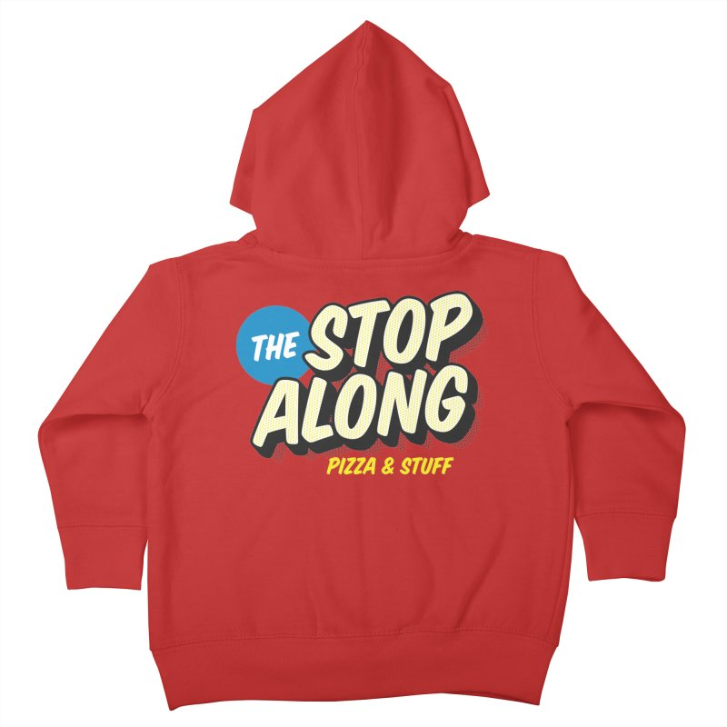 Pink/Red Shirt Kids Toddler Zip-Up Hoody by StopAlong Swag