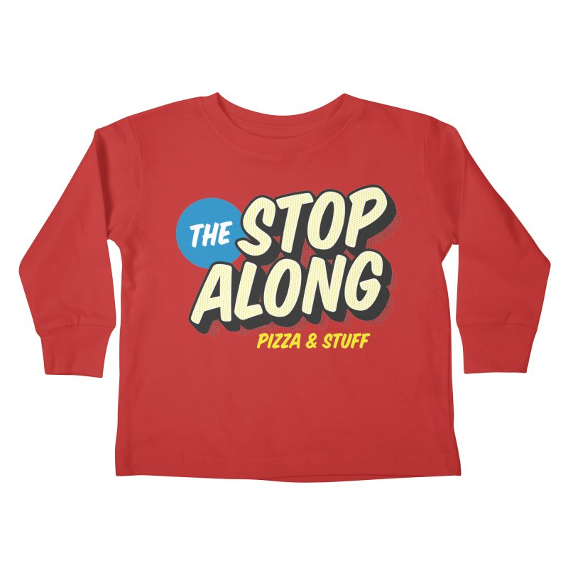 Pink/Red Shirt Kids Toddler Longsleeve T-Shirt by StopAlong Swag