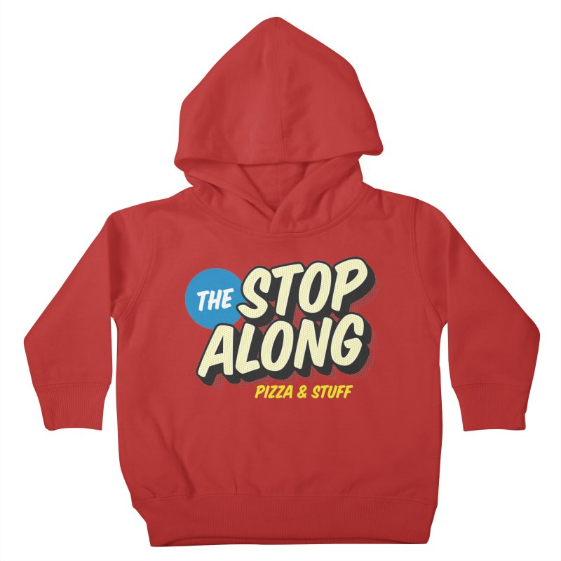 Pink/Red Shirt Kids Toddler Pullover Hoody by StopAlong Swag