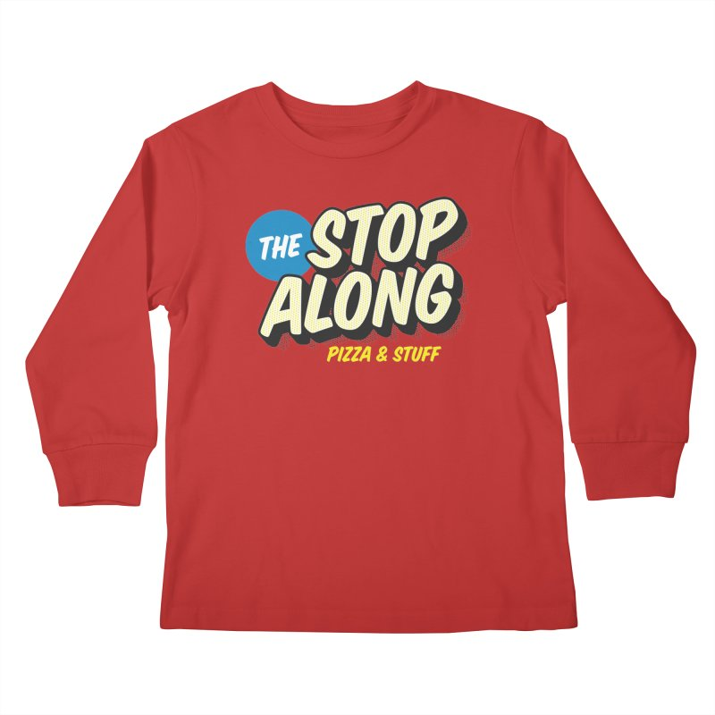 Pink/Red Shirt Kids Longsleeve T-Shirt by StopAlong Swag