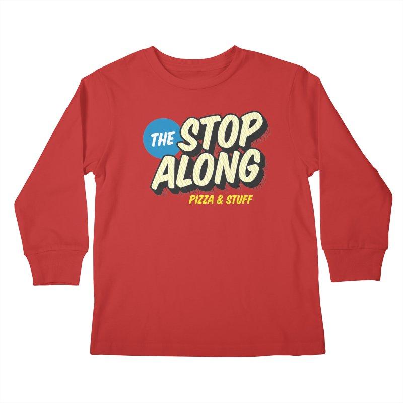 Pink/Red Shirt Kids Longsleeve T-Shirt by StopAlong Swag