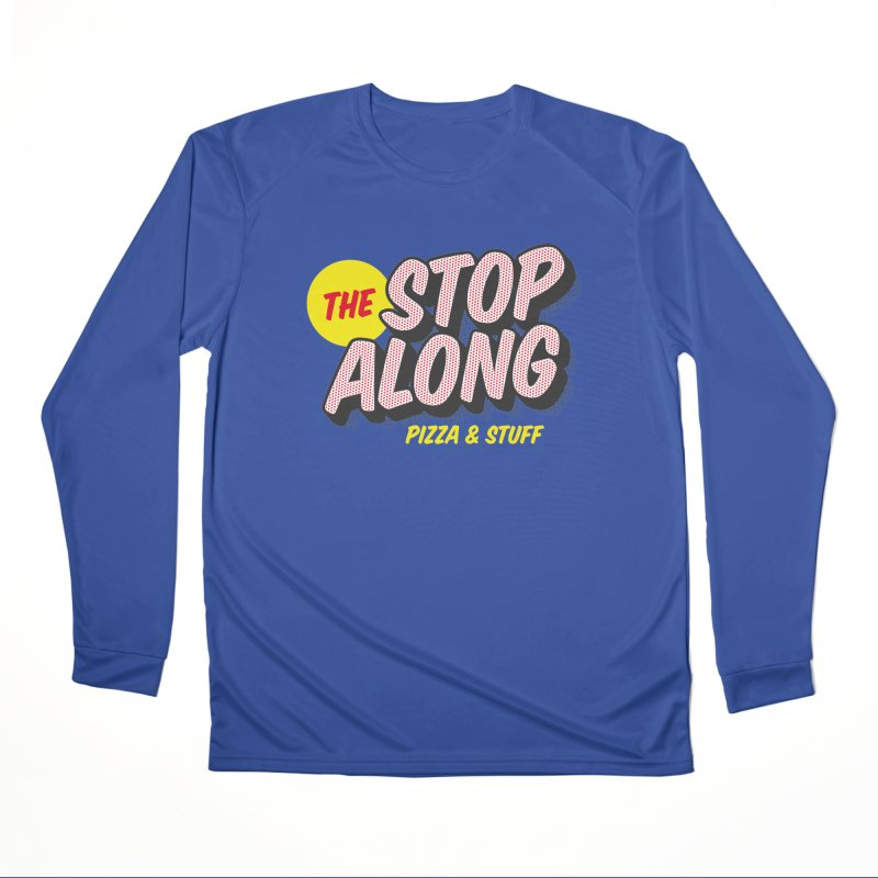Blue Shirt Men's Performance Longsleeve T-Shirt by StopAlong Swag