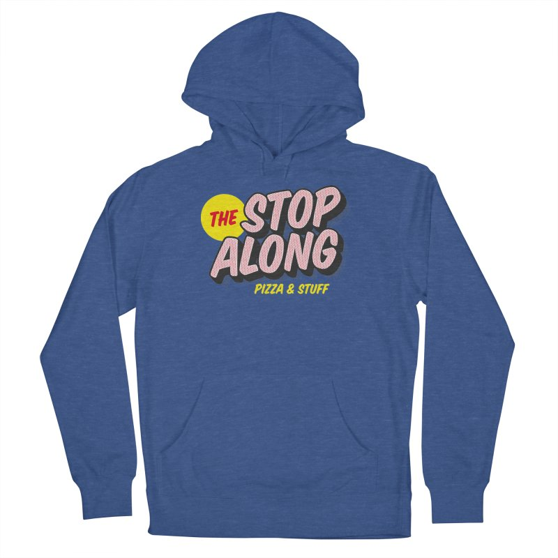 Blue Shirt Men's French Terry Pullover Hoody by StopAlong Swag