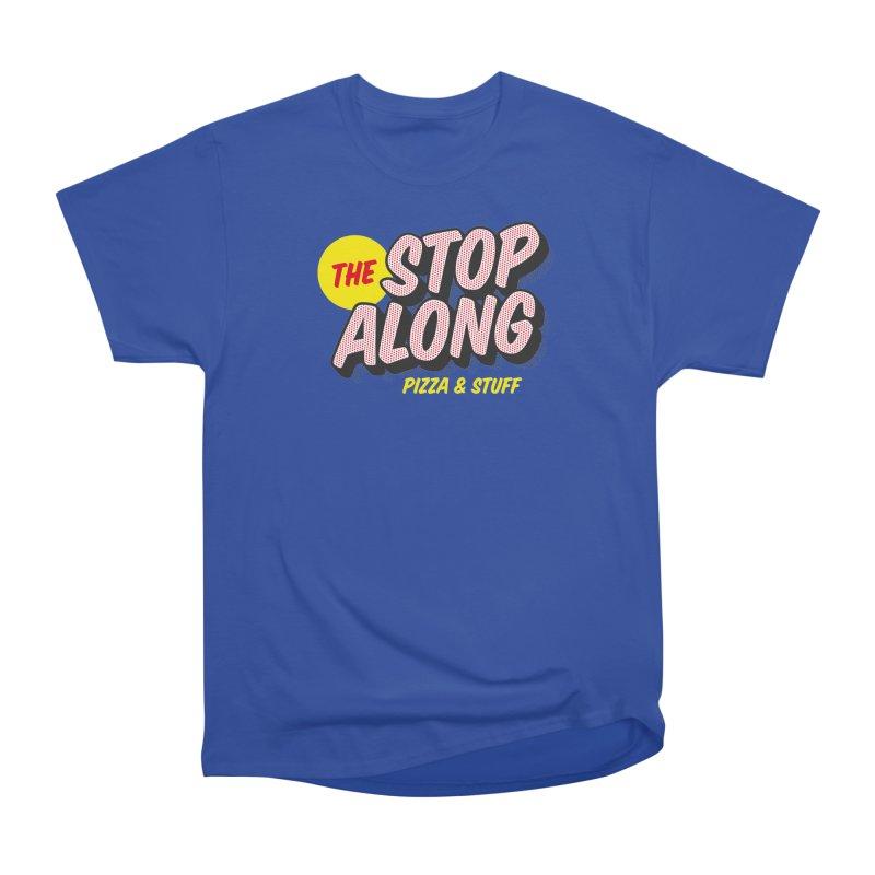 Blue Shirt Women's Heavyweight Unisex T-Shirt by StopAlong Swag