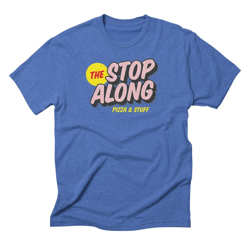 Blue Shirt Men's Triblend T-Shirt by StopAlong Swag